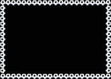 Рамка футбола Стоковое фото RF