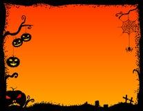 Рамка хеллоуина Стоковое Изображение RF