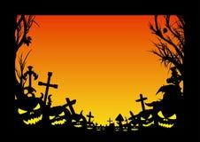 Рамка хеллоуина Стоковое Фото