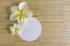 рамка цветка курорта Стоковые Фотографии RF