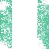 рамка цветка предпосылки орнаментирует белизну Стоковое Изображение RF