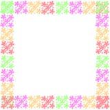 Рамка цветка рамки Стоковые Фотографии RF
