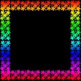 Рамка цветка рамки Стоковые Изображения RF