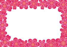 рамка цветка Стоковое фото RF