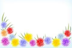 рамка цветков Стоковое Изображение