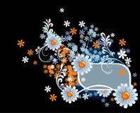 рамка цветков иллюстрация вектора