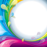 Рамка цветов Стоковые Фотографии RF