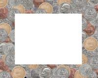 Рамка центов США Стоковые Изображения