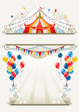 рамка цирка Стоковое Фото