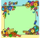 Рамка школы Стоковые Фото