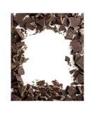 рамка шоколада Стоковая Фотография RF