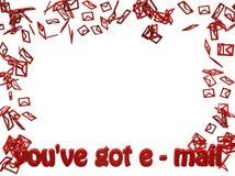 Рамка электронной почты Стоковое Изображение