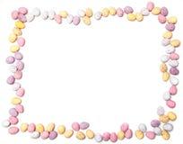 рамка яичка шоколада Стоковое Изображение RF