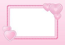 Рамка для валентинки Стоковые Фото