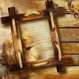 рамка деревянная Стоковая Фотография