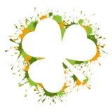 Рамка дня St. Patrick Стоковые Изображения RF
