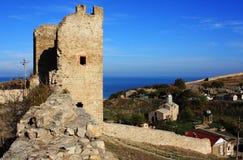 рамка 8454 крепостей старая Стоковые Фотографии RF
