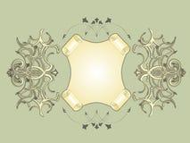 рамка cartouche Стоковые Изображения RF
