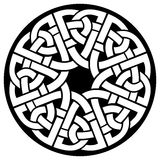 Рамка celtic круга Стоковое Фото
