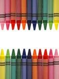 рамка crayon Стоковое Изображение