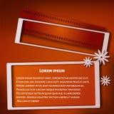 рамка 3d также вектор иллюстрации притяжки corel Стоковая Фотография