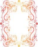 рамка doodle граници схематичная Стоковые Фото