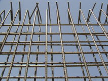 Рамка False-work для стены Стоковое Фото