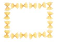 рамка farfalle Стоковое Фото