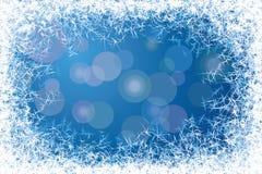 Рамка Frost Стоковое Изображение