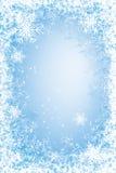 Рамка Frost Стоковые Фотографии RF