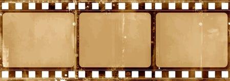 Рамка Grunge - большая огорченная текстура Декоративным граница вектора выдержанная годом сбора винограда Большая предпосылка Gru Стоковая Фотография RF