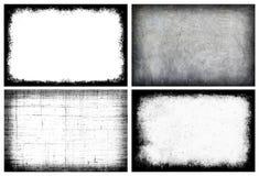 Рамка grunge собрания - творческая предпосылка с космосом для вас Стоковое Изображение