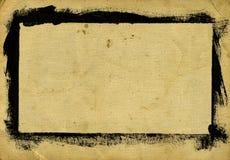рамка grungy Стоковое Изображение RF