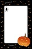 рамка halloween Стоковое фото RF