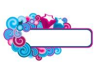 рамка multicolor иллюстрация штока