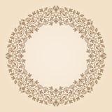 Рамка nouveau искусства вектора Стоковая Фотография RF