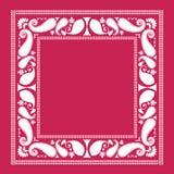 рамка paisley Стоковые Изображения RF