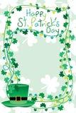 Рамка ` s St. Patrick Стоковое Изображение