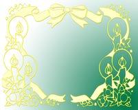 рамка santa Стоковая Фотография RF