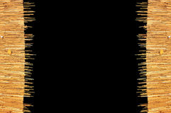 Рамка weave крыши Стоковая Фотография