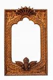 Рамка Woodcarve Стоковые Фотографии RF