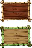 Рамки бамбука шаржа бесплатная иллюстрация