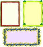Рамки вектора в комплекте бесплатная иллюстрация