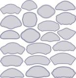Рамки в различных формах Стоковые Изображения RF