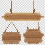 Рамки деревянной доски иллюстрация штока