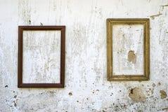 рамки 2 деревянные Стоковые Изображения