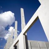 рамки здания Стоковая Фотография