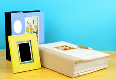 Рамки и альбомы фото Стоковое Изображение RF
