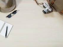 Рамки и детали перемещения и фото каникул Стоковое Изображение