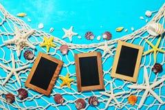 Рамки и морские звёзды фото Стоковые Фотографии RF